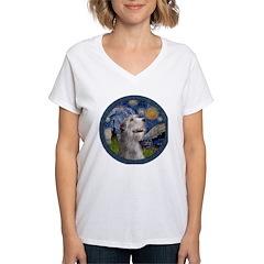 Starry Irish Wolfhound Shirt