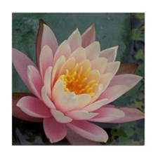 Lotus Flower Tile Coaster
