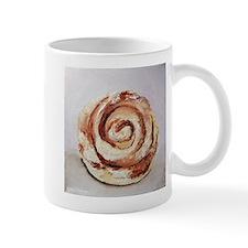 Mug with Iced Cinnamon Roll