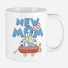 Red Wagon New Mom Mug