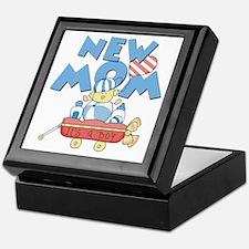 Red Wagon New Mom Keepsake Box