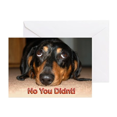 No You Didn't Greeting Cards (Pk of 10)