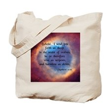 """""""Sheep in Midst of Wolves"""" [Eye/God] Tote Bag"""