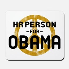 HR Person for Obama Mousepad
