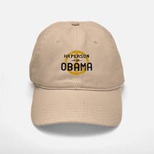 HR Person for Obama Baseball Baseball Cap