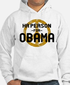 HR Person for Obama Hoodie