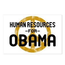 Human Resoueces for Obama Postcards (Package of 8)