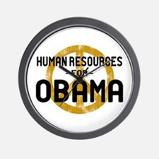 Human Resoueces for Obama Wall Clock