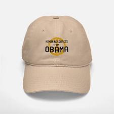 Human Resoueces for Obama Baseball Baseball Cap