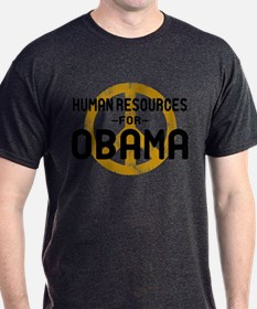 Human Resoueces for Obama T-Shirt