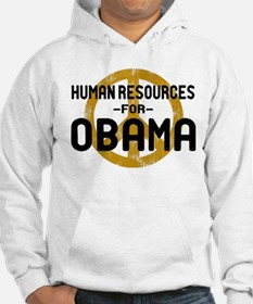 Human Resoueces for Obama Hoodie
