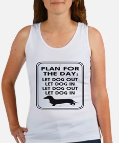 Plan For Day Women's Tank Top