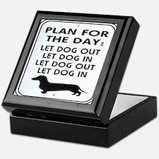 Plan For Day Keepsake Box