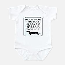 Plan For Day Infant Bodysuit
