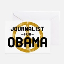 Journalist for Obama Greeting Cards (Pk of 10)