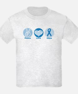 Peace LtBl Hope T-Shirt