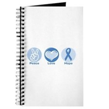 Peace LtBl Hope Journal