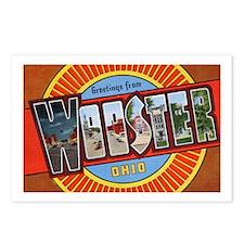Wooster Ohio Greetings Postcards (Package of 8)