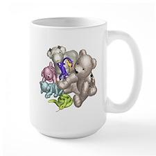 Beige Bear and Friends Mug