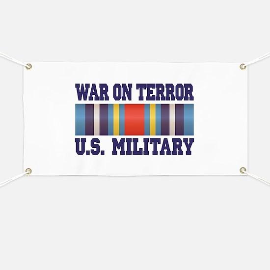 War On Terror Service Ribbon Banner