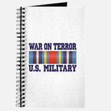 War On Terror Service Ribbon Journal