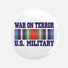 "War On Terror Service Ribbon 3.5"" Button (100 pack"