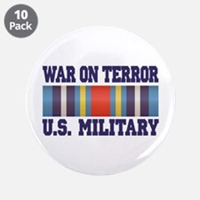 "War On Terror Service Ribbon 3.5"" Button (10 pack)"