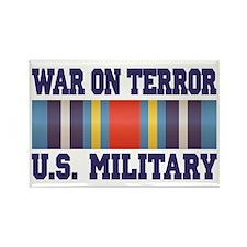 War On Terror Service Ribbon Rectangle Magnet