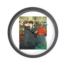 Two Women Dancing Wall Clock