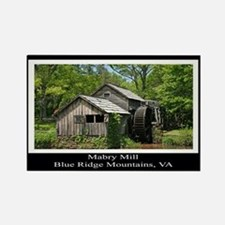 Mabry Mill Souvenir Rectangle Magnet
