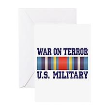 War On Terror Service Ribbon Greeting Card