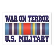 War On Terror Service Ribbon Postcards (Package of