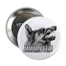 mmm PETA yummy PETA Button