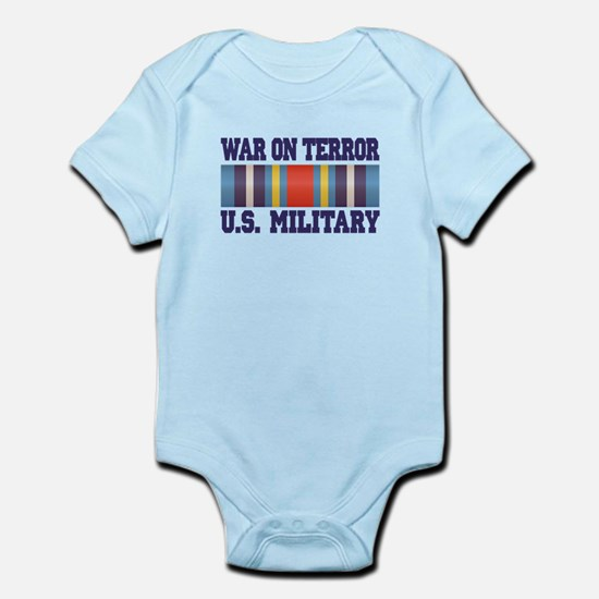 War On Terror Service Ribbon Infant Bodysuit