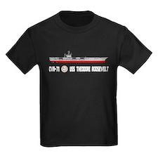 USS Theodore Roosevelt CVN-71 T