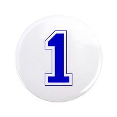 Varsity Font Number 1 Blue 3.5