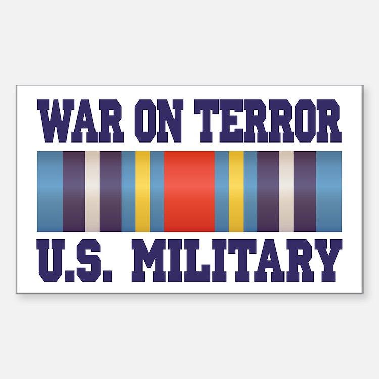 War On Terror Service Ribbon Decal