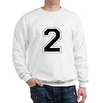 Varsity Font Number 2 Sweatshirt
