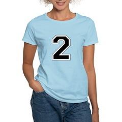 Varsity Font Number 2 T-Shirt