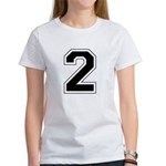 Varsity Font Number 2 Women's T-Shirt