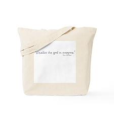 Jane Bennet Visualize Tote Bag