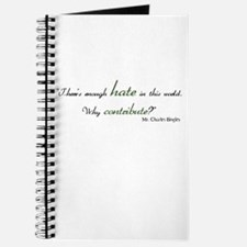 Charles Bingley Hate Journal