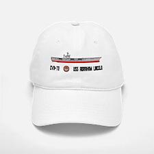 USS Lincoln CVN-72 Baseball Baseball Cap