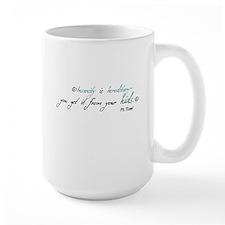 Mr. Bennet Insanity Mug