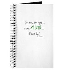 Mr. Bennet Silent Journal