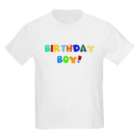 Birthday boy Kids Light T-Shirt