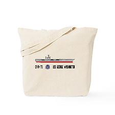 USS Washington CVN-73 Tote Bag