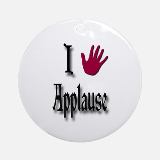 Love Applause Ornament (Round)