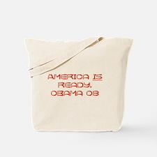 Barack Obama 08 Tote Bag