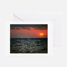 sunrise serenity Greeting Cards